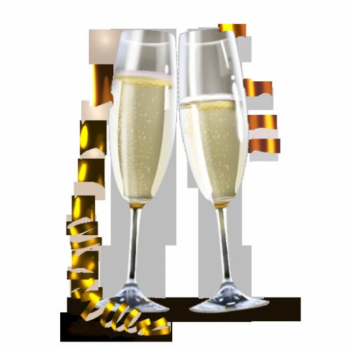 Brinde ano novo png » PNG Image.