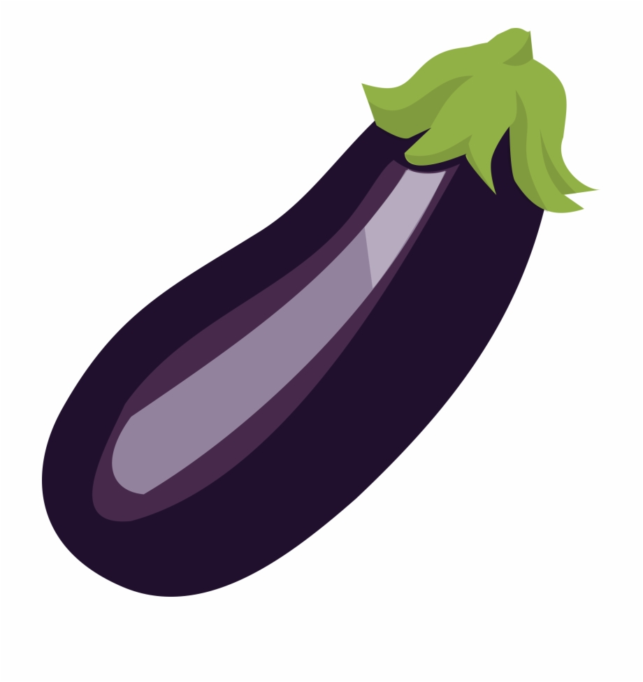 Png Black And White Library Eggplant Clipart Objects.