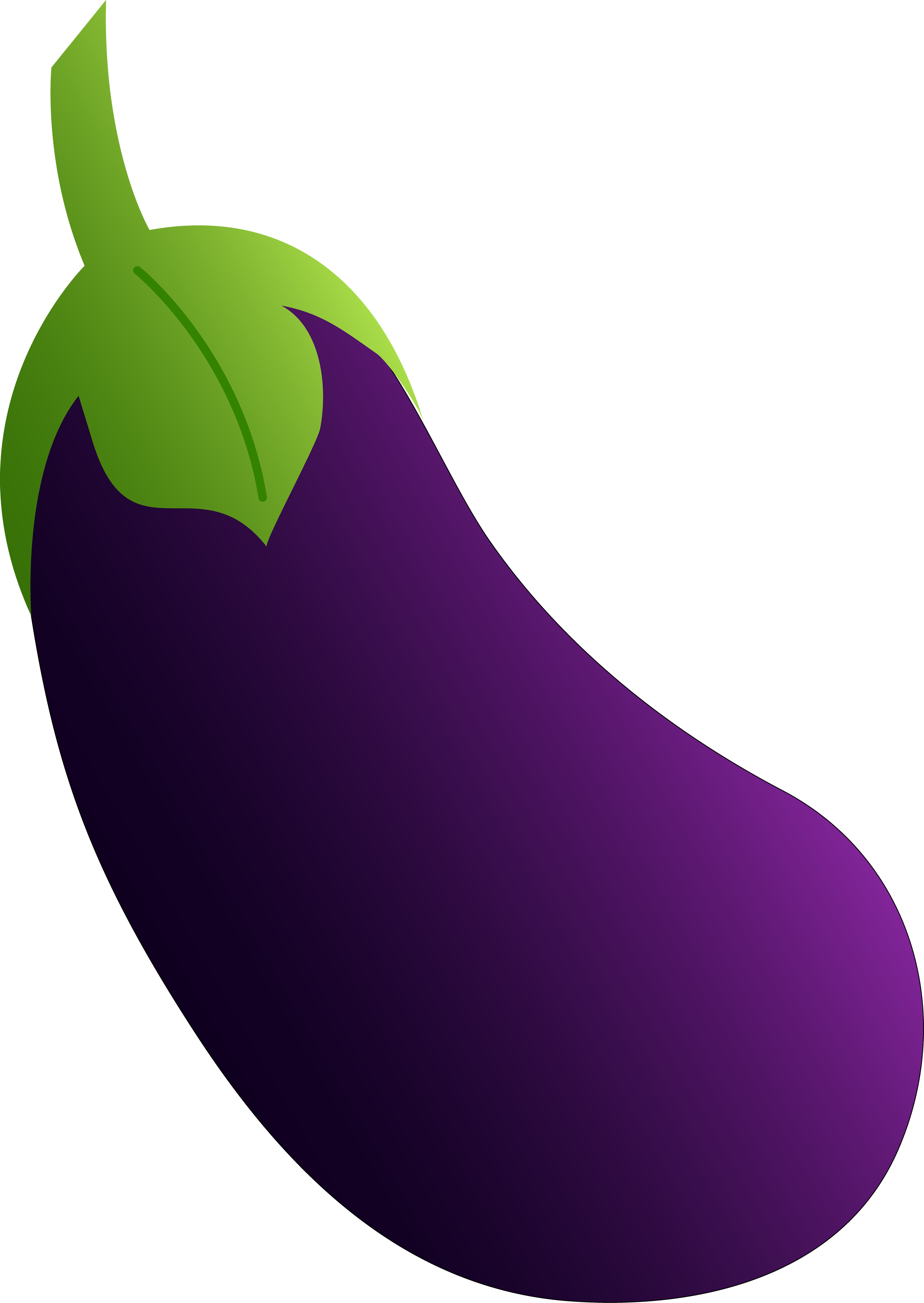 Brinjal clipart 5 » Clipart Station.