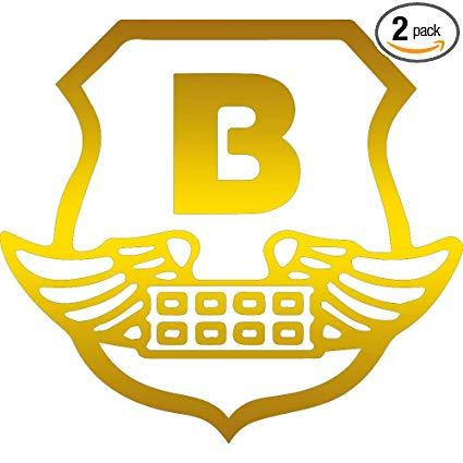 Amazon.com: NBFU DECALS Logo BRINKS 2 (Metallic Gold) (Set.