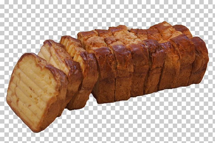 Sliced bread Danish pastry, Brioche PNG clipart.