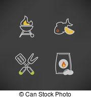 Barbecue briquette Vector Clip Art Royalty Free. 16 Barbecue.