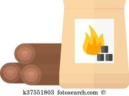 Briquette Clipart Royalty Free. 24 briquette clip art vector EPS.