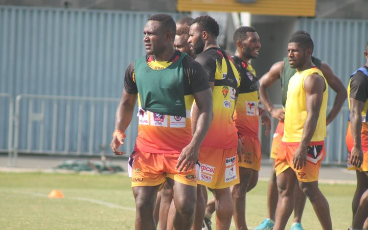Sport: Stargroth Amean to lead PNG Hunters v Broncos.