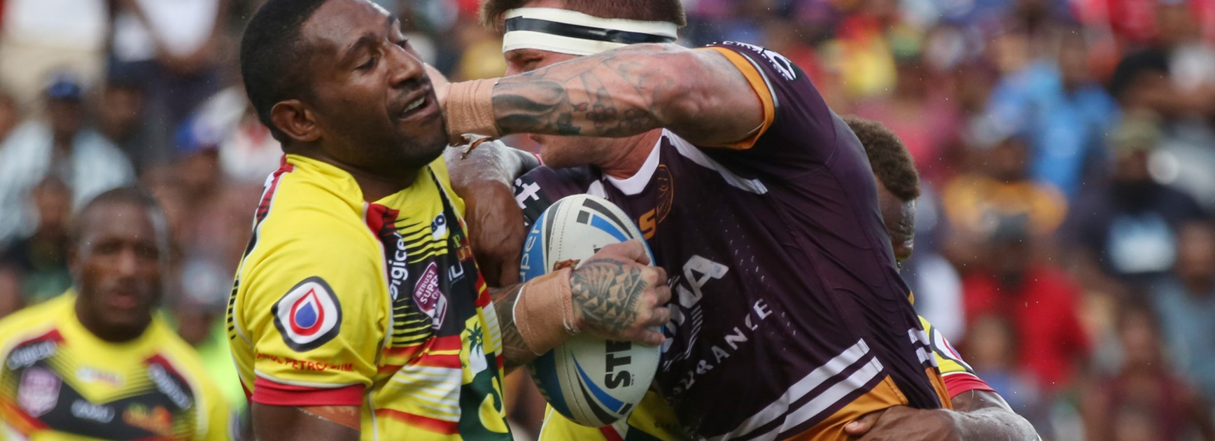 Broncos Overcome Hunters In Historic PNG Clash.