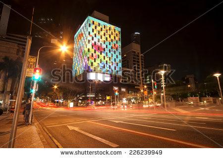 Mexico City Night Stock Photos, Royalty.