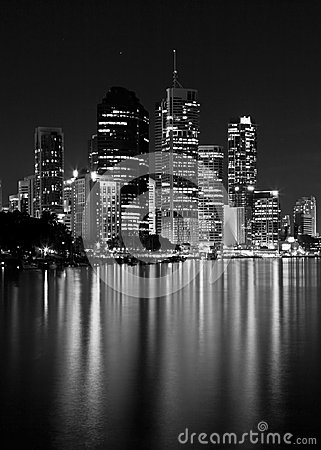 Brisbane city lights clipart #7