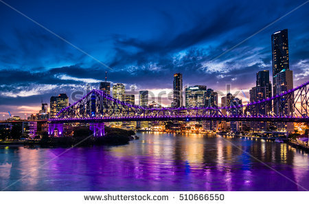 Brisbane Australia Stock Images, Royalty.