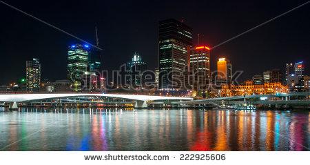 Brisbane city lights clipart #17