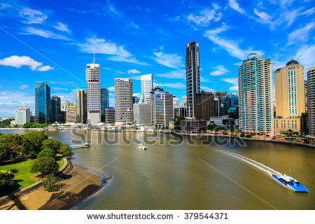Brisbane River Stock Photos, Royalty.