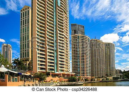 Pictures of Apartment complex, Brisbane River.