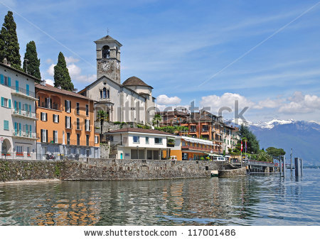 Brissago lake maggiore Stock Photos, Images, & Pictures.
