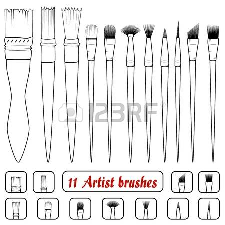 3,373 Bristle Brush Stock Illustrations, Cliparts And Royalty Free.