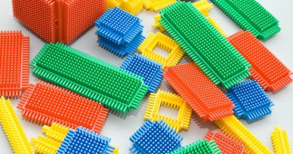 Who remembers bristle blocks?.