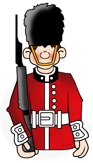 Free Military Clip Art by Phillip Martin, British Soldier.