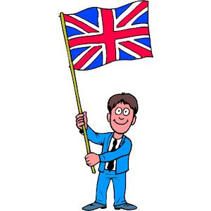 British Flag Clipart.