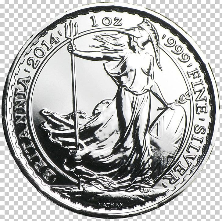 Royal Mint Britannia Silver Coin Bullion Coin PNG, Clipart.