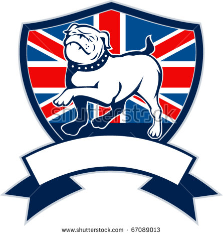 british bulldog clipart #8