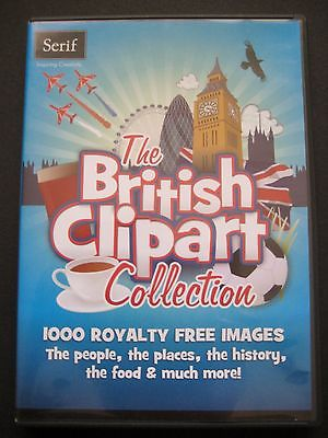 Serif british clipart collection.