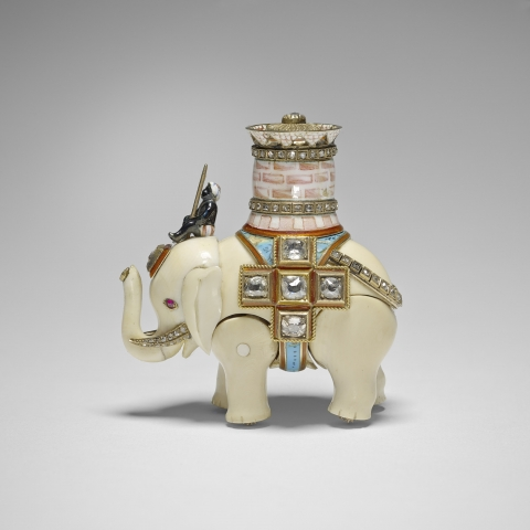 Lost Fabergé Egg Elephant Discovered.