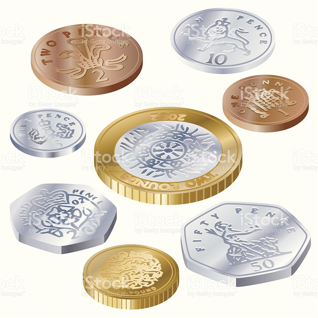 Uk Coins Clipart.