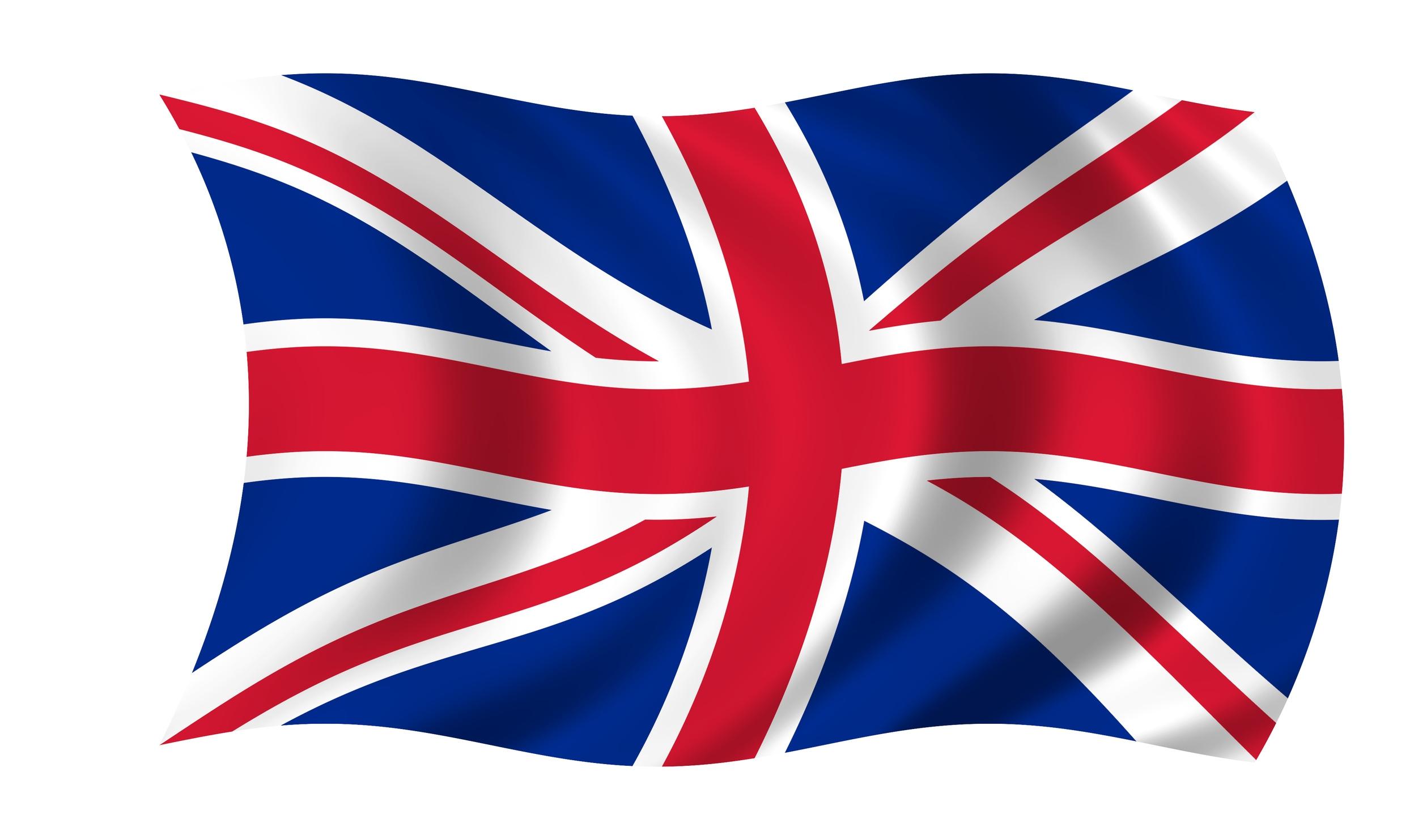 England Flag Clipart.