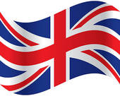 British flag clipart #14