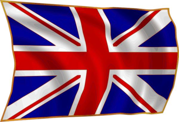 British flag clipart #5