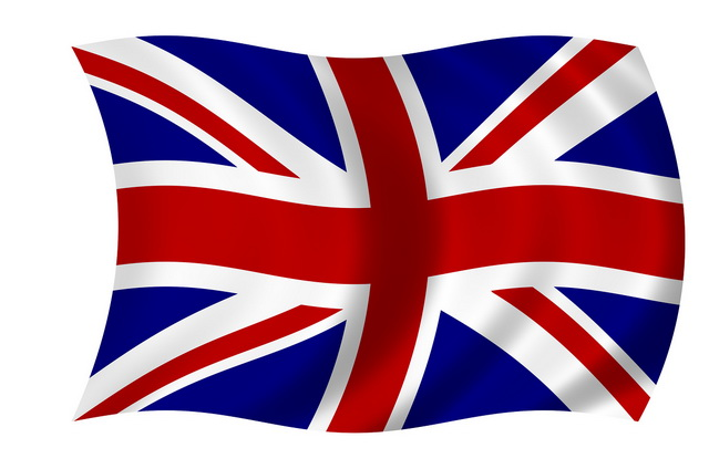 British flag clipart #13