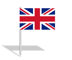 British flag transparent clipart.