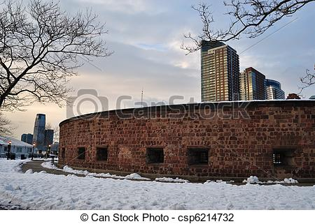 Stock Photo of Fort Clinton.