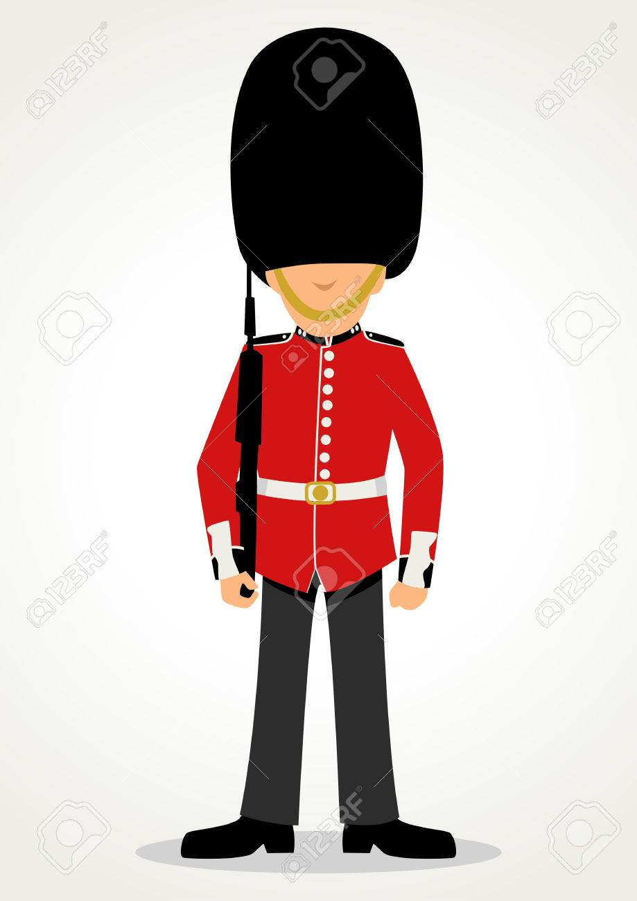 756 Queens Guard Stock Vector Illustration And Royalty Free Queens.