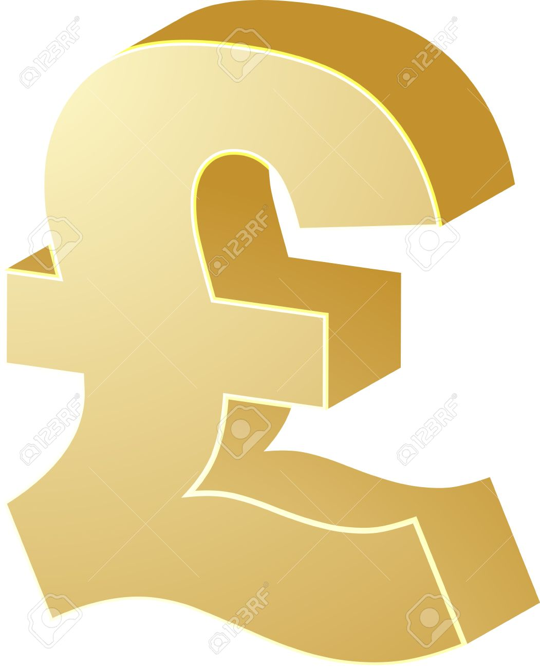 English cash clipart.