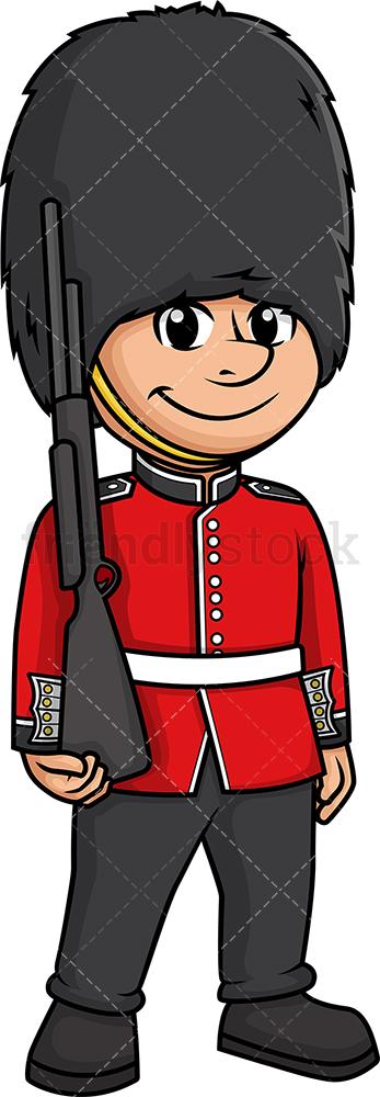 British Soldier Queen's Guard.