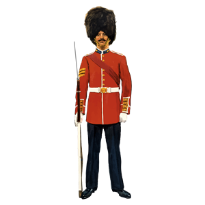 Vintage British Soldier clipart, cliparts of Vintage British Soldier.
