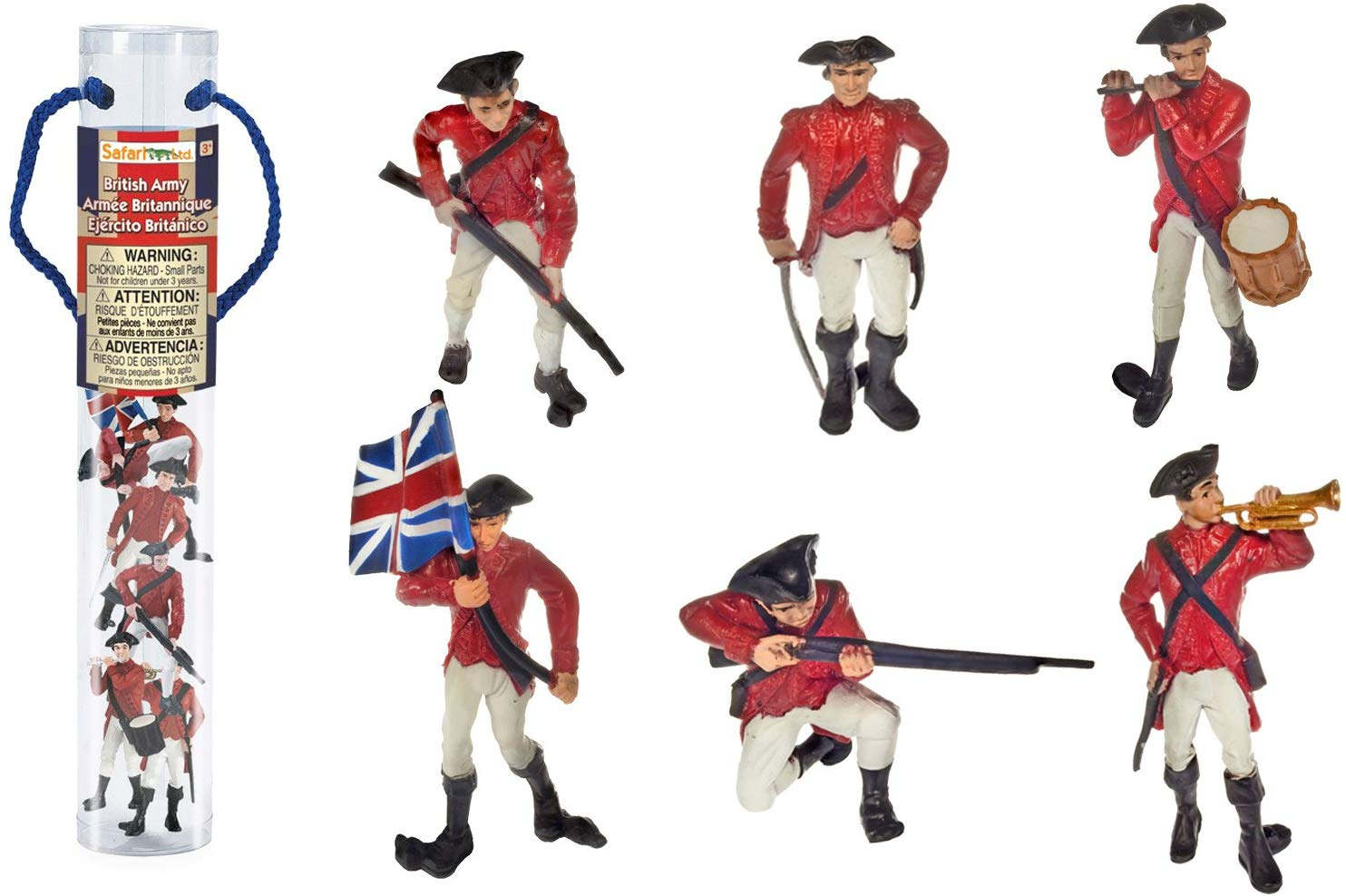 Safari Ltd Historical Collections American Revolutionary War British Army  Designer TOOB.