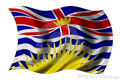 Bc Flag Clipart.