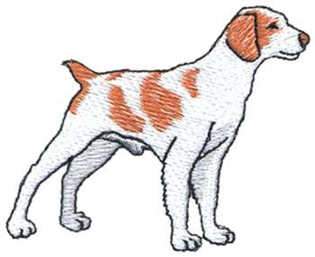 Dog brittany clipart.