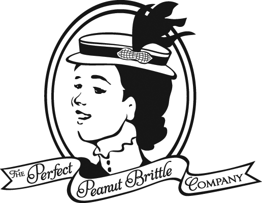 Logo Design: The Perfect Peanut Brittle Company.