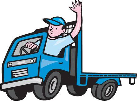 Truck driver clipart 3 » Clipart Station.