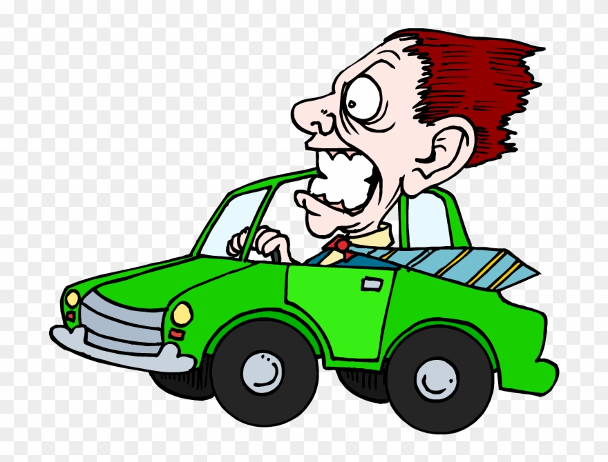 Scary Clipart Driver.