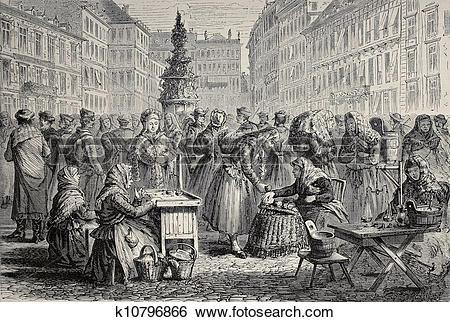 Stock Illustration of Brno market k10796866.