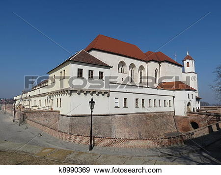 Stock Photograph of Brno, Spielberg Castle k8990369.