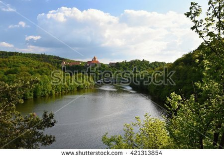 Brno Dam Stock Photos, Royalty.