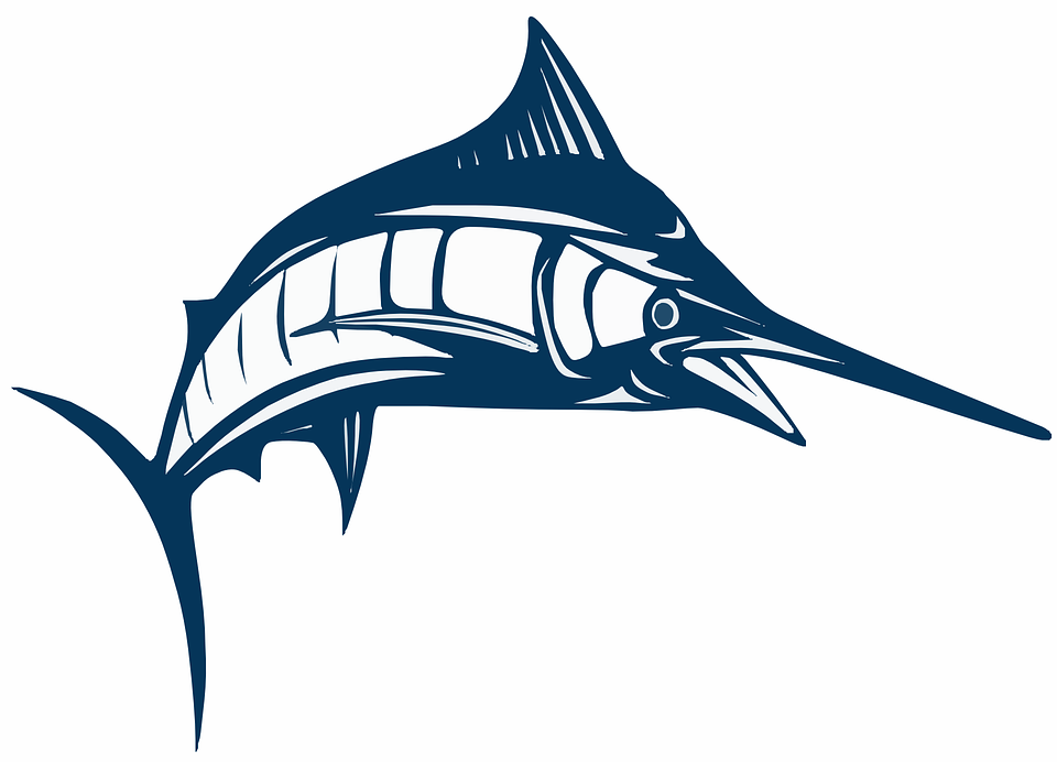 Free vector graphic: Swordfish, Broadbill, Marlin.