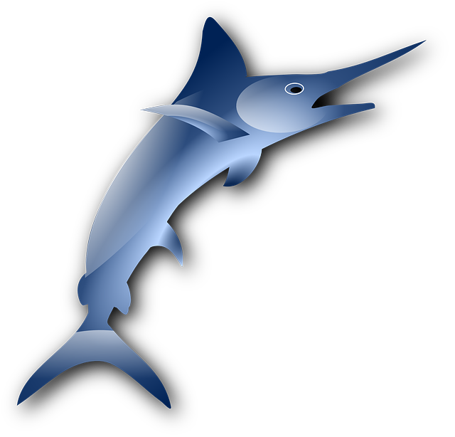Free vector graphic: Marlin, Swordfish, Fish, Sailfish.