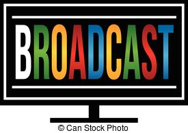 Broadcast clipart.