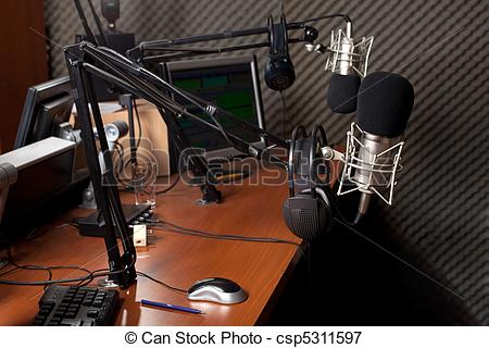 Picture of radio station.