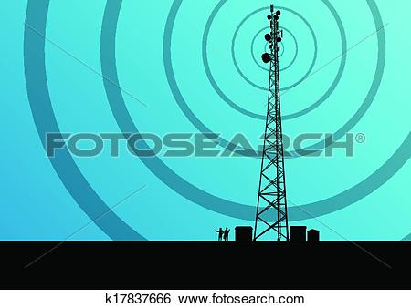 Broadcasting station Clipart and Illustration. 3,647 broadcasting.