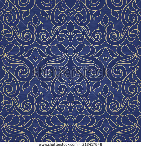 Brocade Pattern Stock Images, Royalty.